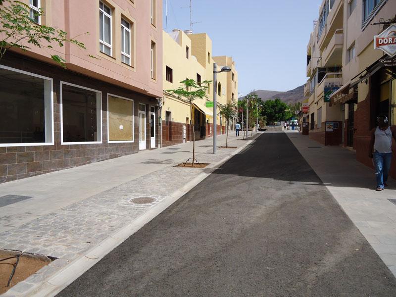 Proyecto zona Comercial Abierta de Morro Jable
