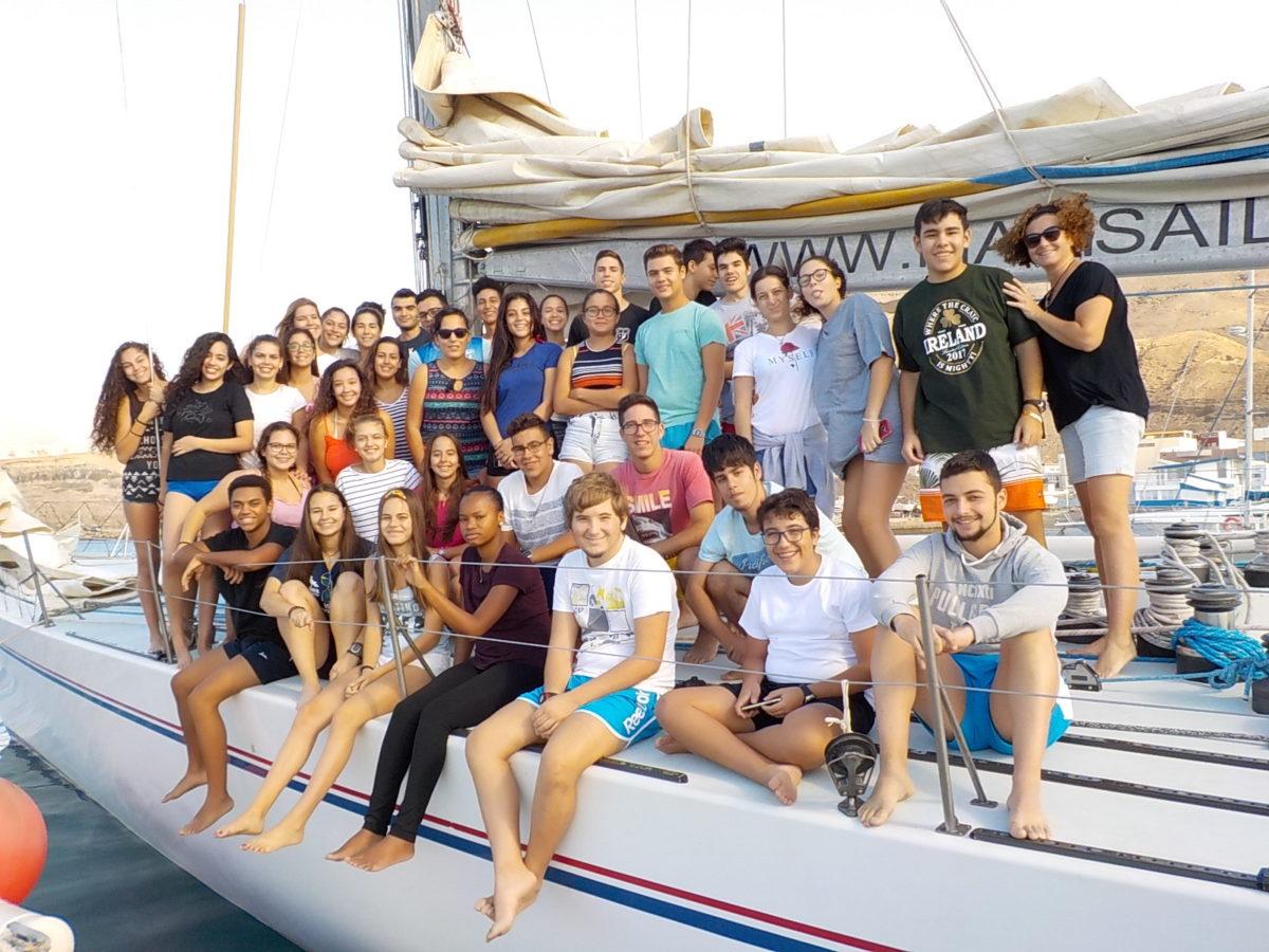 300 jóvenes de Morro Jable han participado en actividades náuticas…