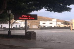 El Ayuntamiento de Pájara coloca cinco paneles electrónicos para informar a los ciudadanos