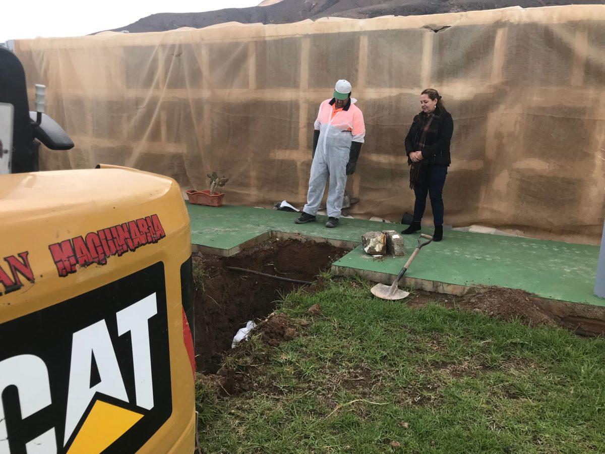 Arrancan las obras de reforma y ampliación del Cementerio Municipal de Morro Jable