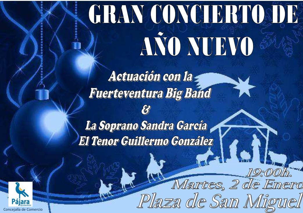 Morro Jable celebra la llegada del 2018 con el Gran Concierto de Año Nuevo