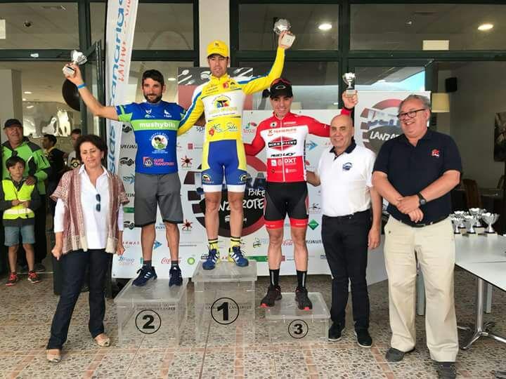 El Ayuntamiento de Pájara felicita a Adán Alfaya, del Club Deportivo Cofete, por su buena actuación en el Ultrabike Santa Rosa