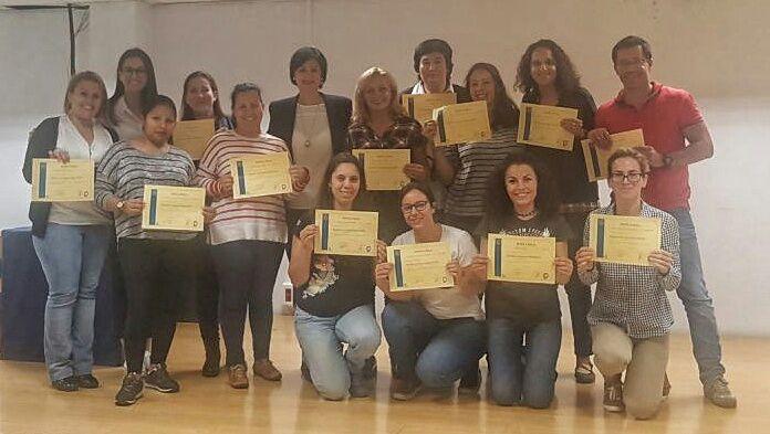 14 personas consiguen el certificado en lengua de signos, en un curso impartido por el Ayuntamiento de Pájara