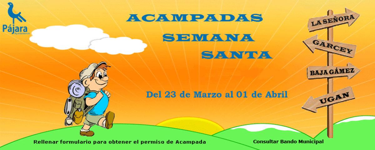 Ya se puede solicitar autorización de acampada en el litoral del municipio de Pájara en Semana Santa