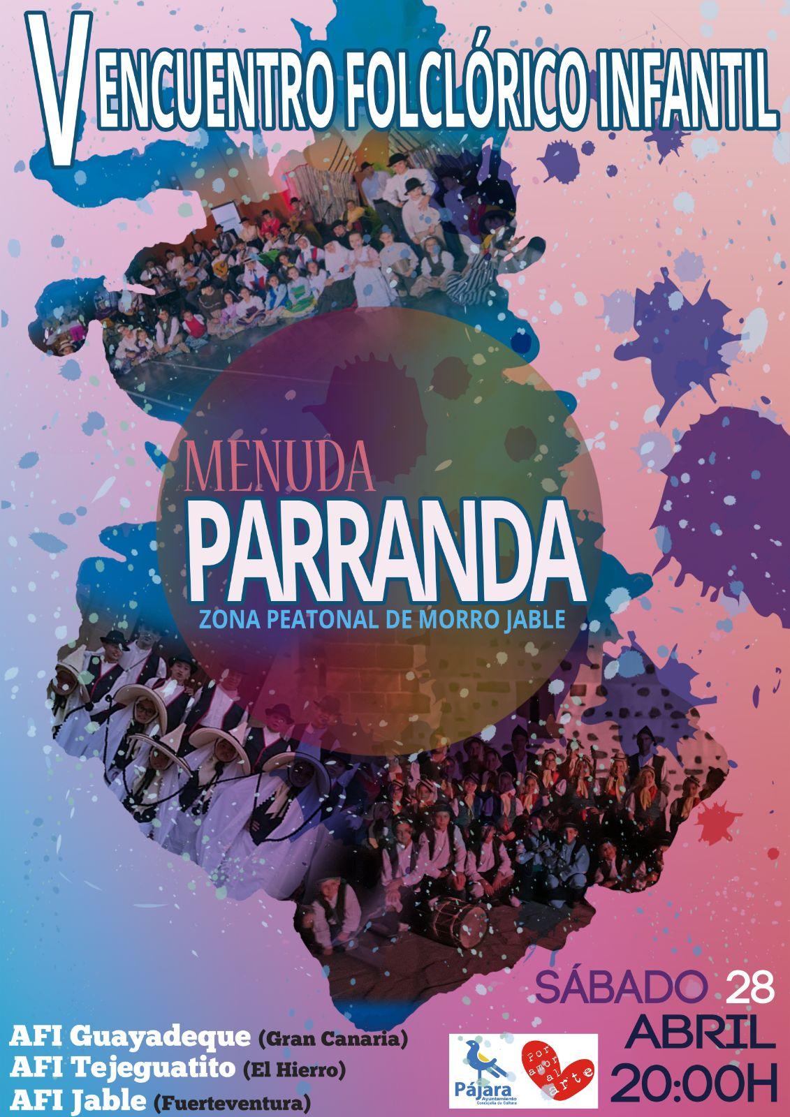 V ENCUENTRO FOLCLÓRICO INFANTIL MENUDA PARRANDA