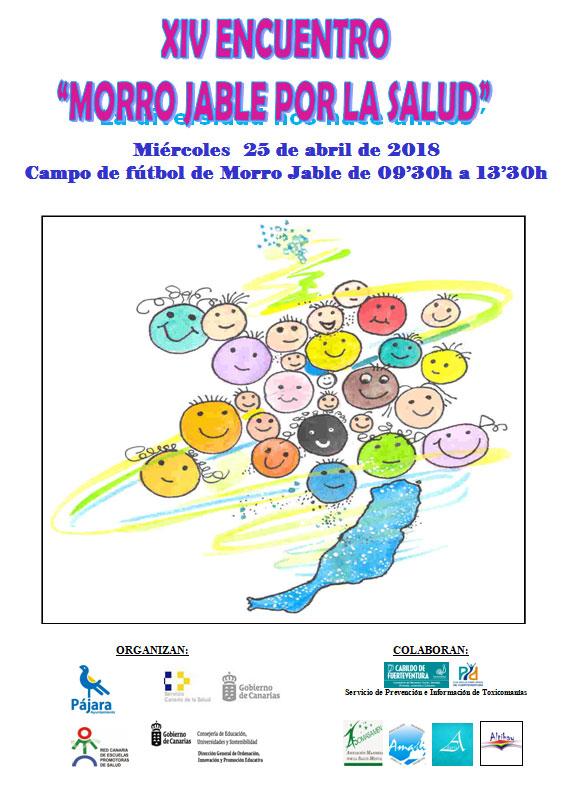 180 escolares de sexto de Primaria participan este miércoles, 25 de abril, en el XIV Encuentro 'Morro Jable por la Salud'