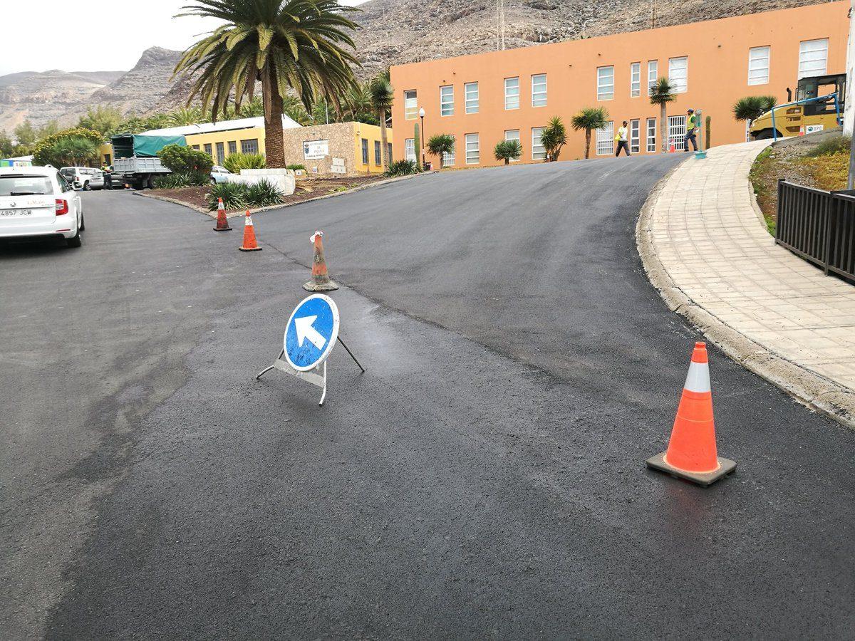 El Ayuntamiento de Pájara acondiciona diferentes calles del centro de Morro Jable