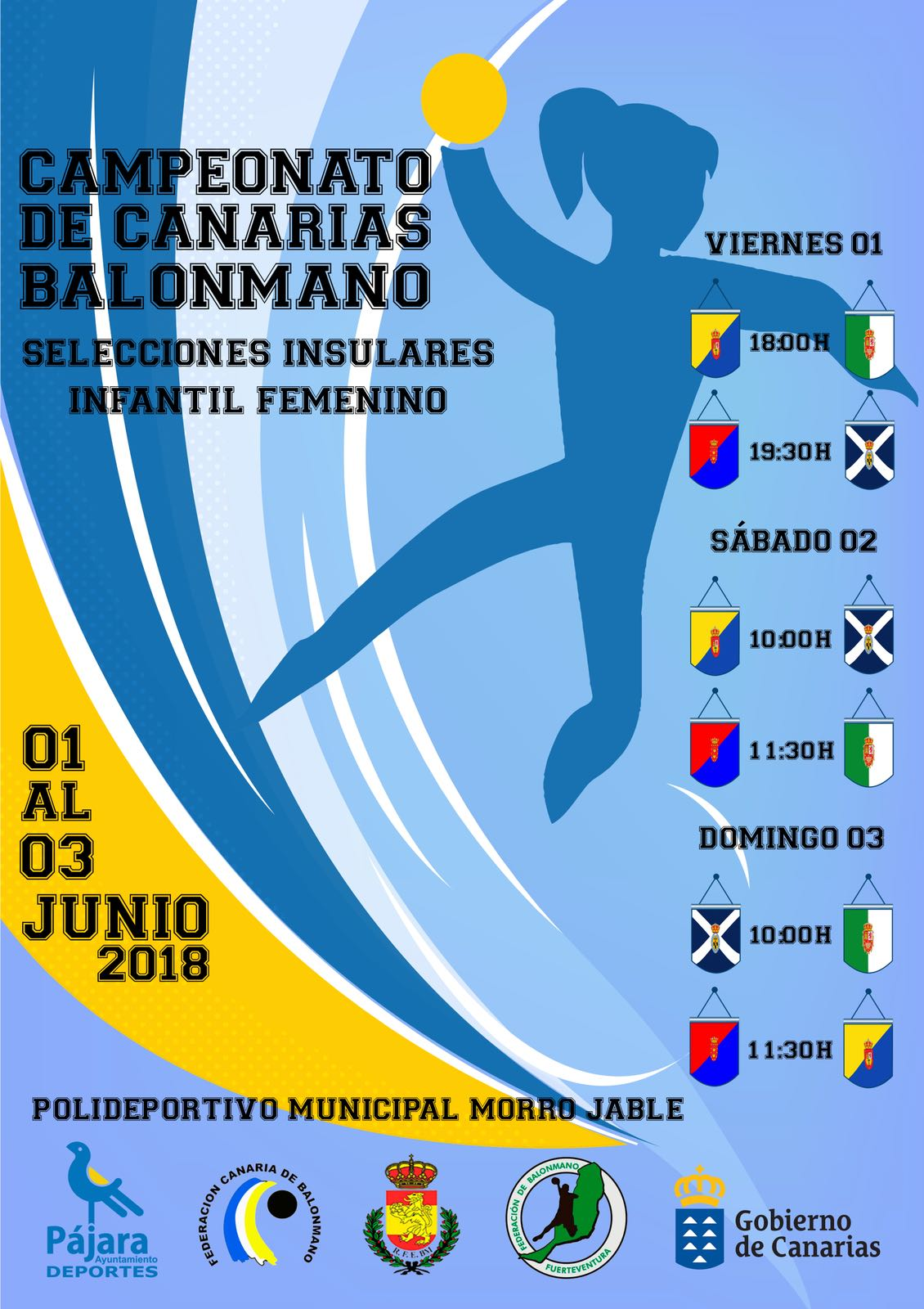La base del balonmano canario femenino se dará cita en Morro Jable del 1 al 3 de Junio