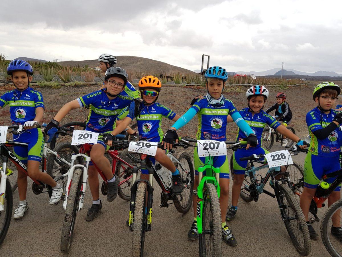 Destacada participación del CD Cofete en el 'II Maratón MTB Verde Aurora'