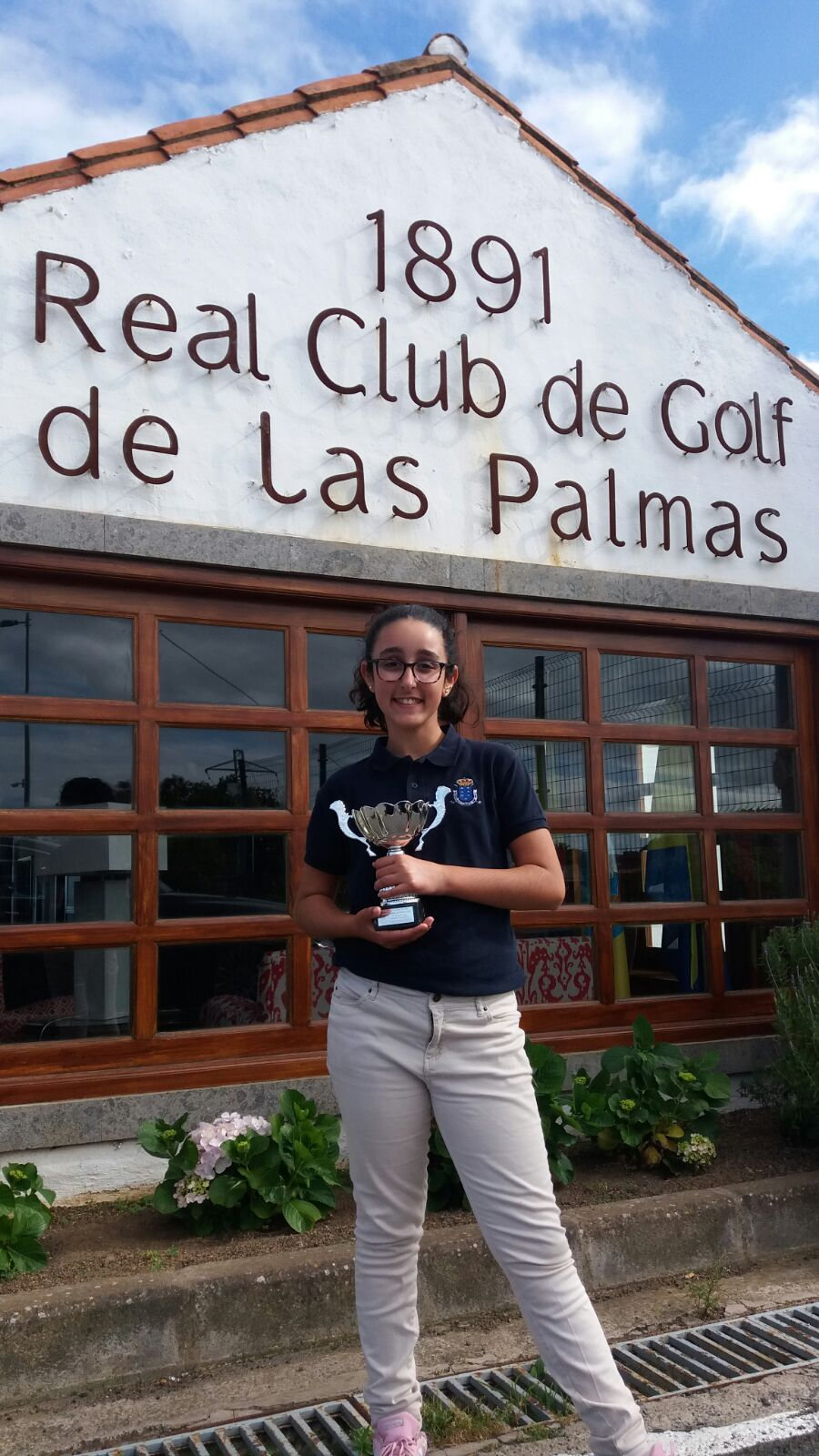 Nueva victoria de Nerea Garrido, en el Real Club de Golf de Las Palmas