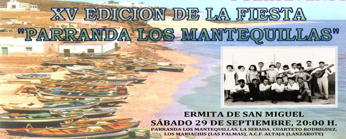"""XV EDICIÓN FIESTA """"LOS MANTEQUILLAS"""""""