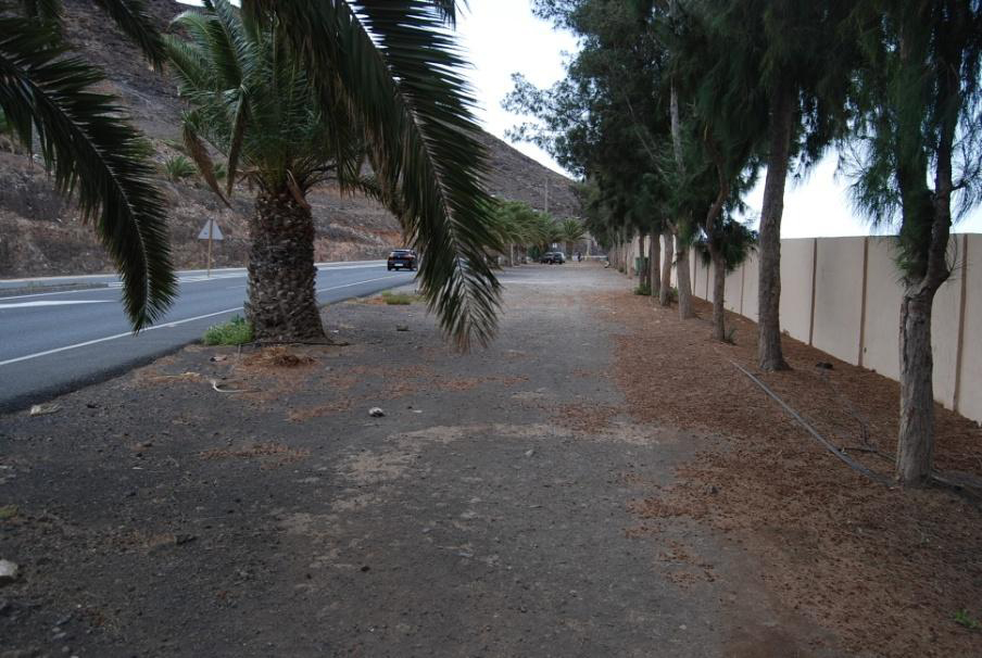 Mejoras de acceso al Complejo Deportivo de Morro Jable