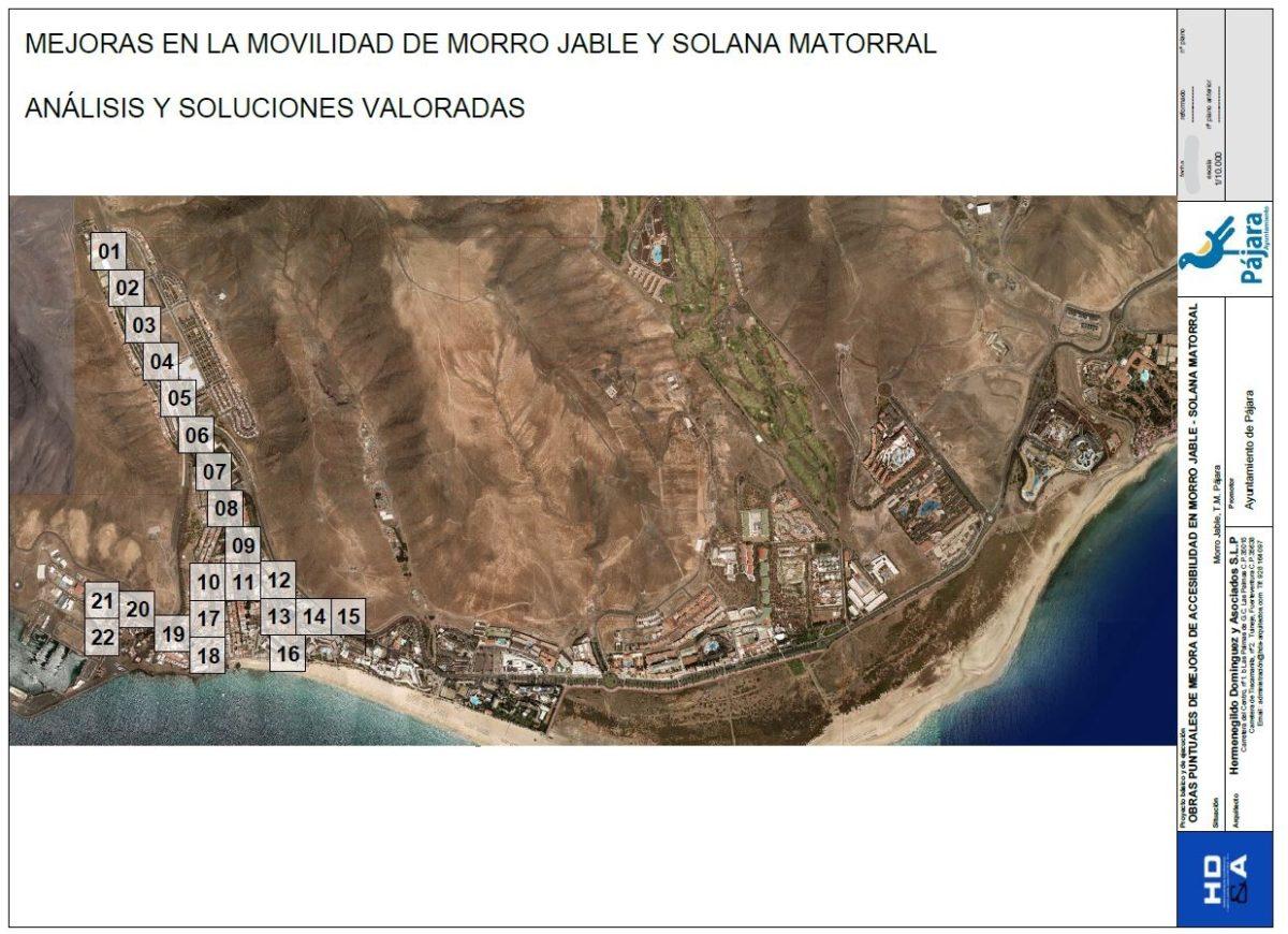 Pájara inicia las obras de mejora de la accesibilidad en Morro Jable por un valor de 405.482 euros