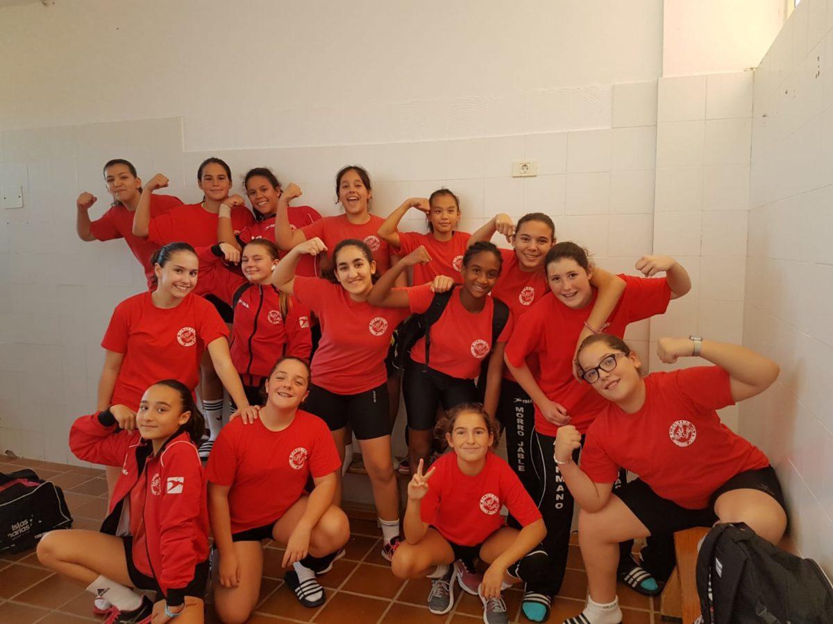 El Equipo Infantil Femenino de Balonmano Morro Jable V.C. se clasifica para el Campeonato de Canarias