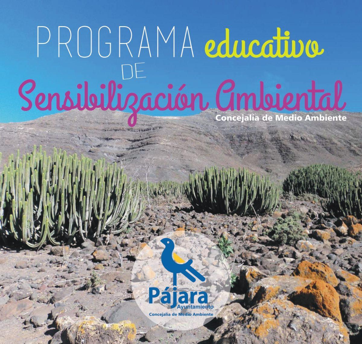 Programación de las rutas y actividades de educación ambiental en Pájara