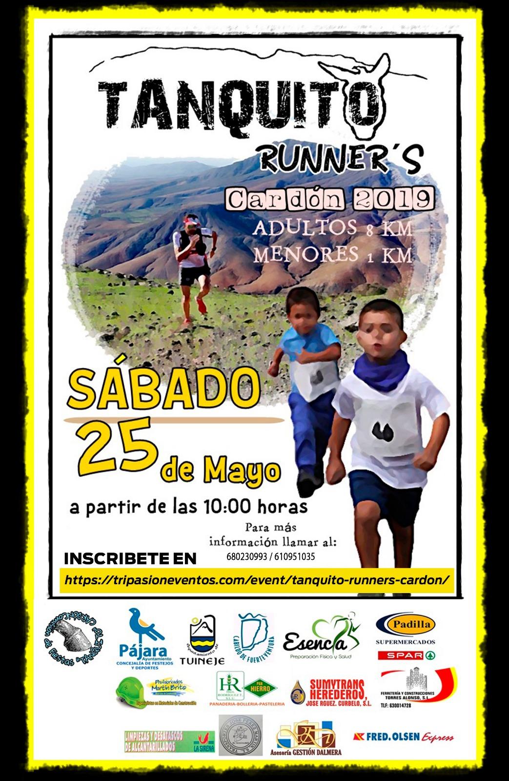 """El Cardón celebrará por cuarta vez el trail """"Tanquito Runner's"""" mañana sábado 25 de mayo"""