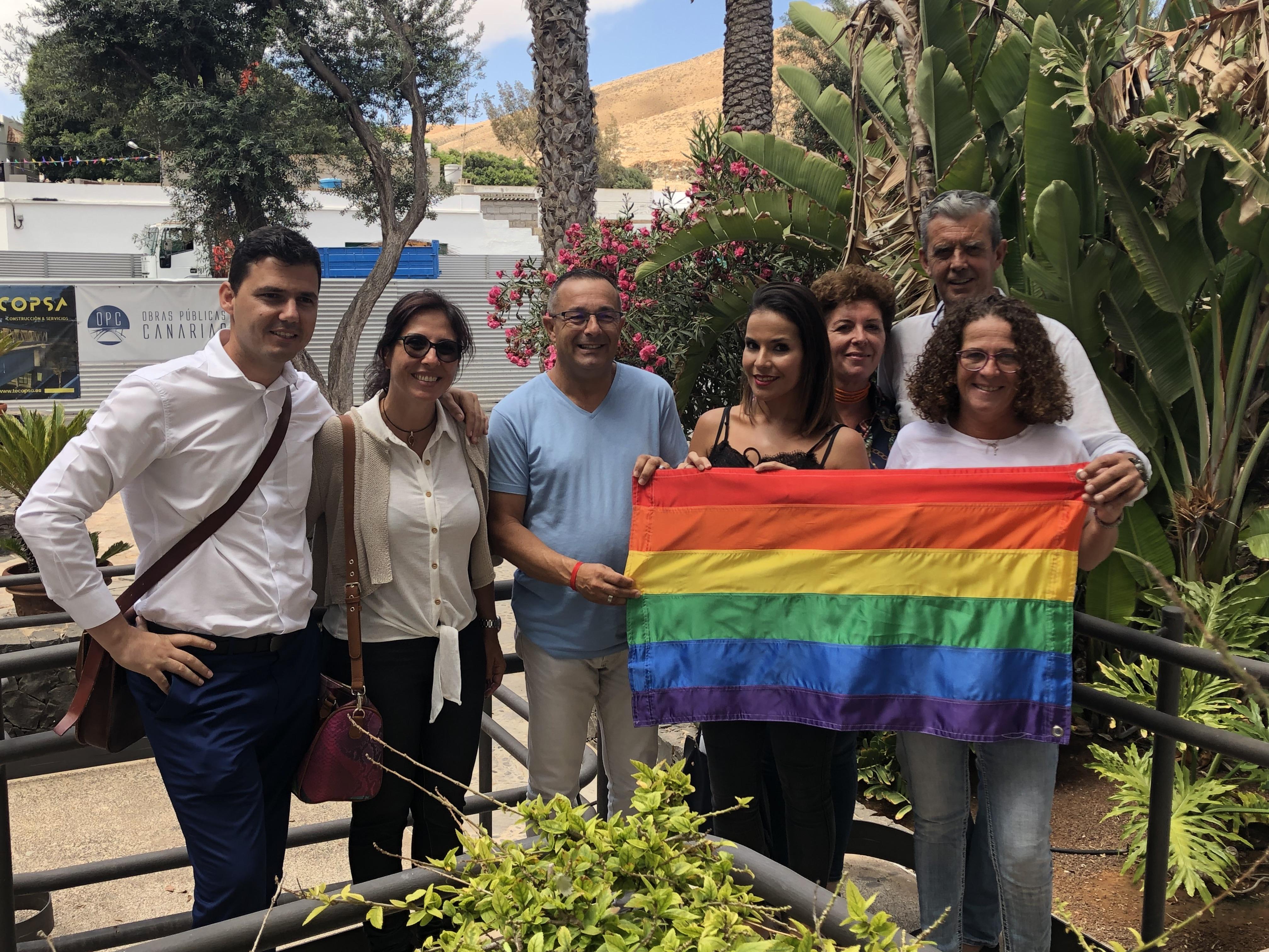 Pájara se suma a la celebración del Día Internacional del Orgullo LGTBI