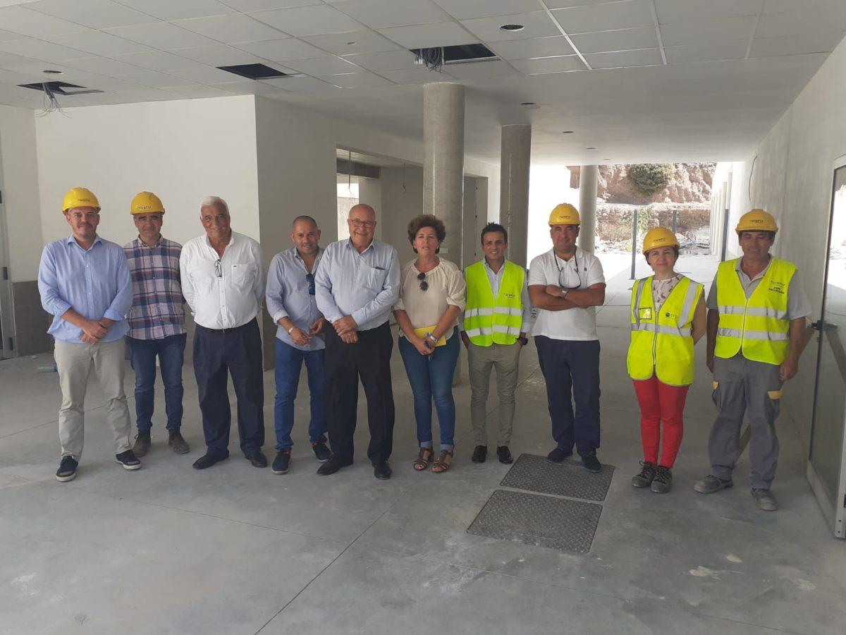 El alcalde de Pájara destaca el avance de las obras de mejora del CEIP Morro Jable