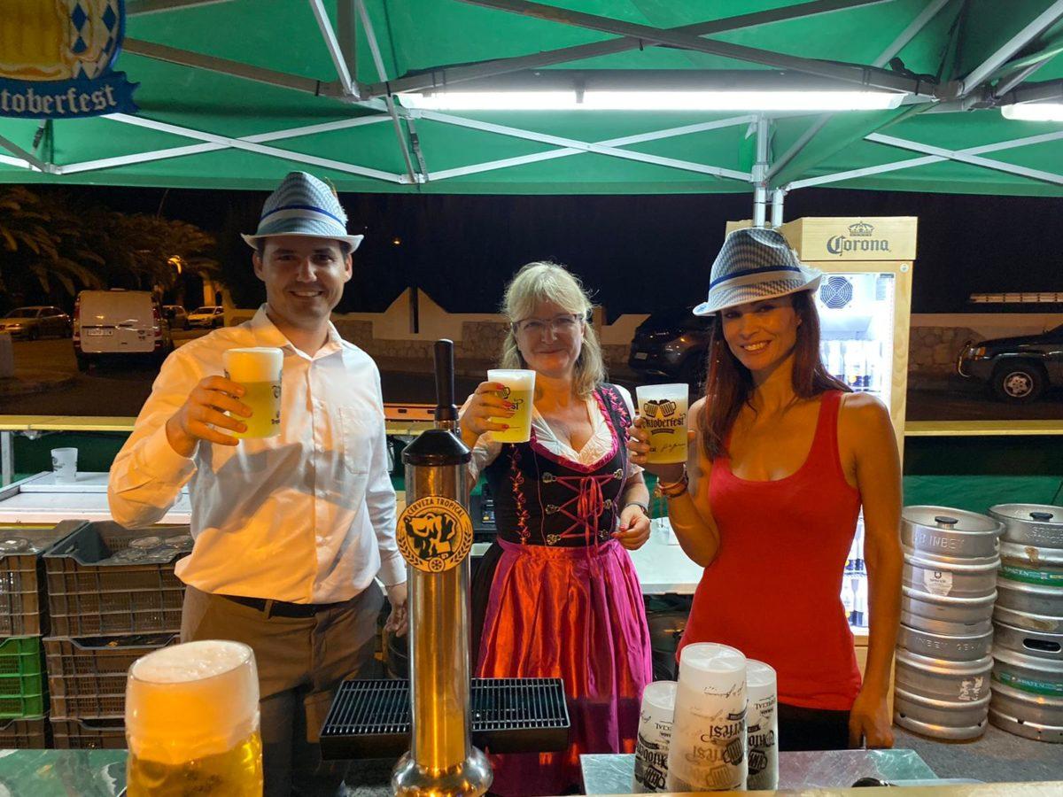 Costa Calma celebra este fin de semana su particular Oktoberfest
