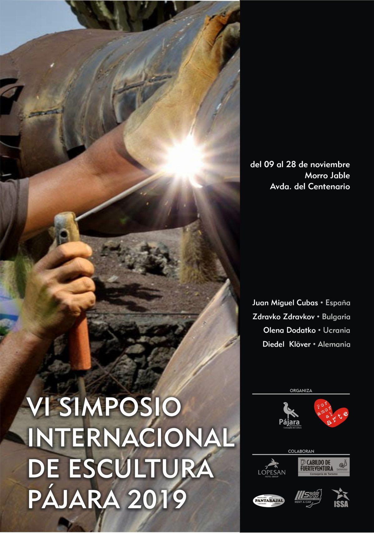 Clausura del VI Simposio Internacional de Escultura Pájara 2019