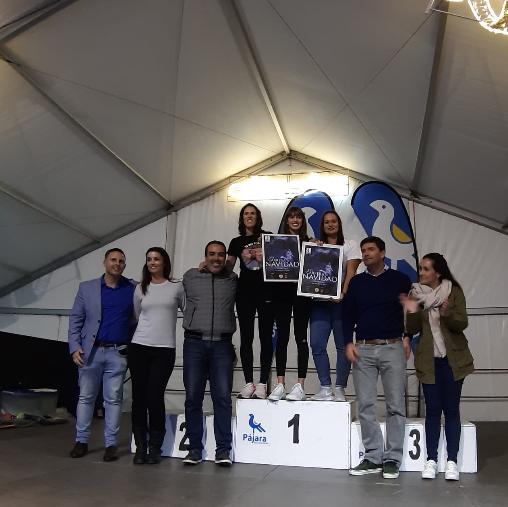 Teo Proi y Ainhoa Barbuzano, vencedores de la Carrera de Navidad Christian Moreno López 2019