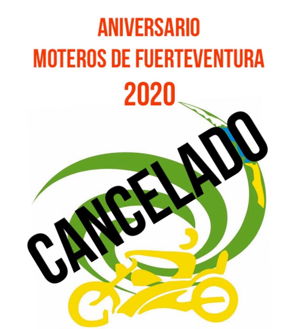 Se suspende el 'Aniversario Moteros de Fuerteventura 2020'