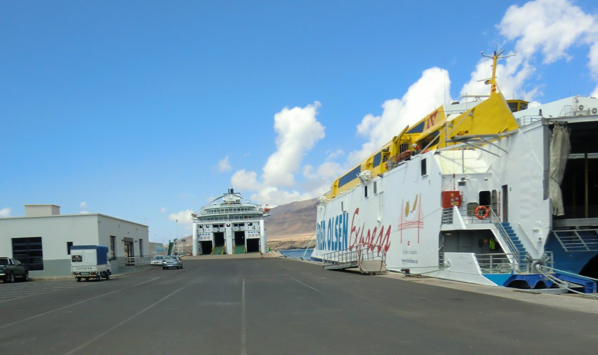 Pájara desinfectará los vehículos que desembarquen en Morro Jable