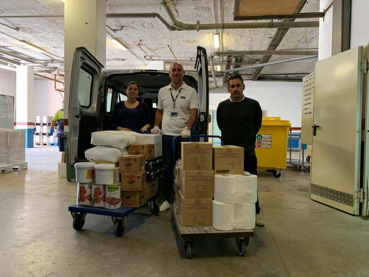 El Ayuntamiento de Pájara distribuye nuevamente alimentos a unas 700 personas vulnerables del sur de la Isla