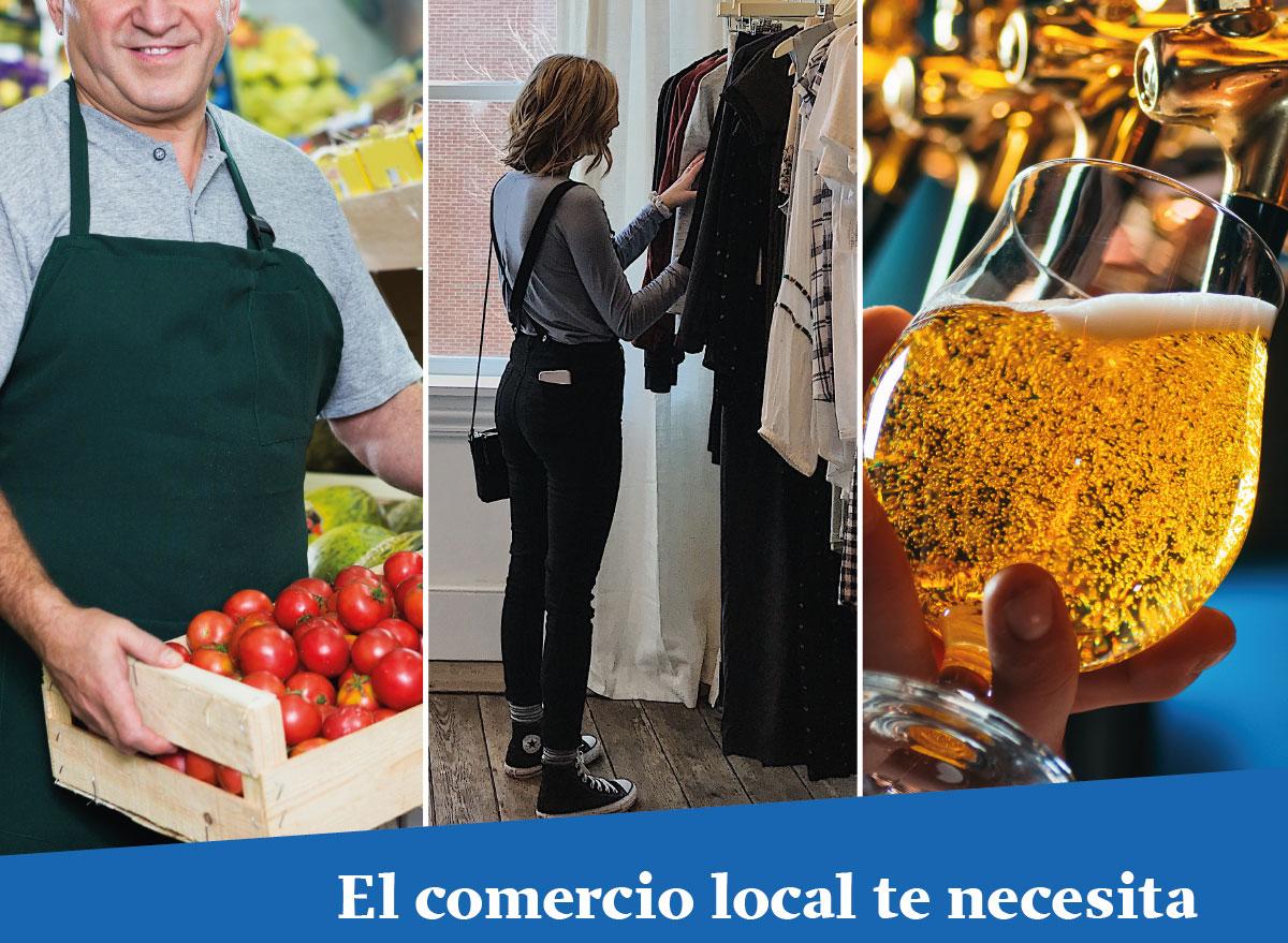¡El comercio local te necesita!