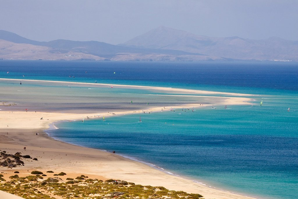 Varias playas del municipio de Pájara disponen de servicio de socorrismo tras su reapertura para el baño