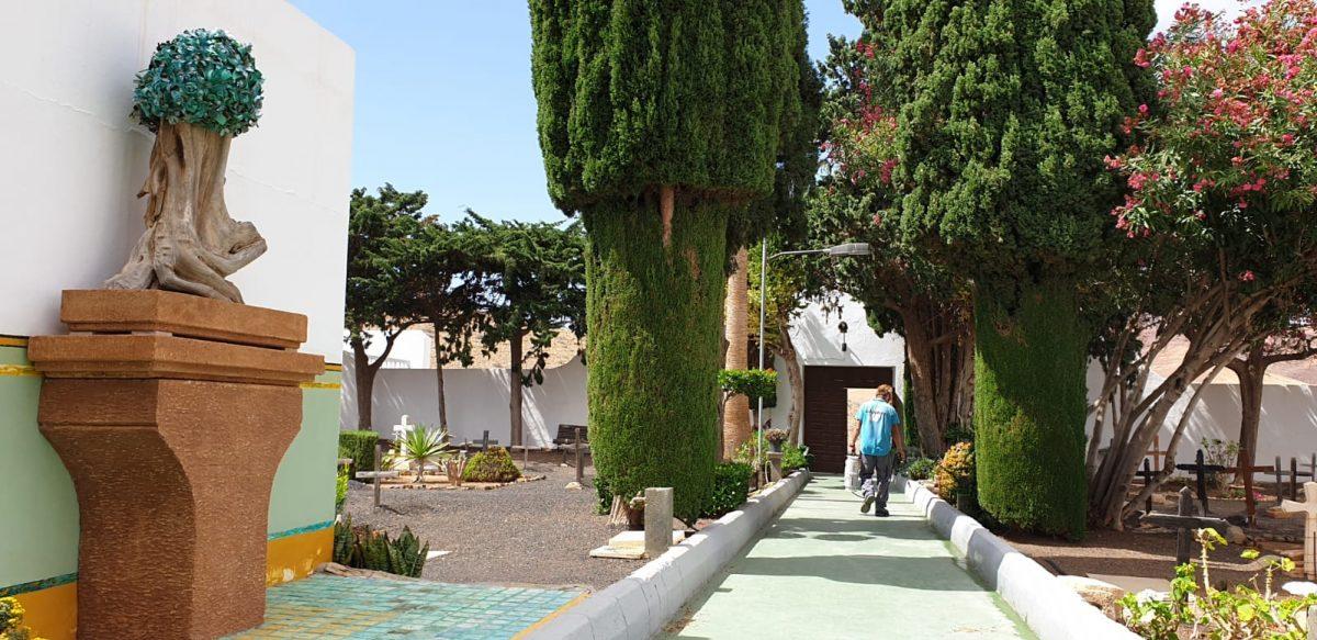 El Ayuntamiento de Pájara reabre el cementerio de Morro Jable