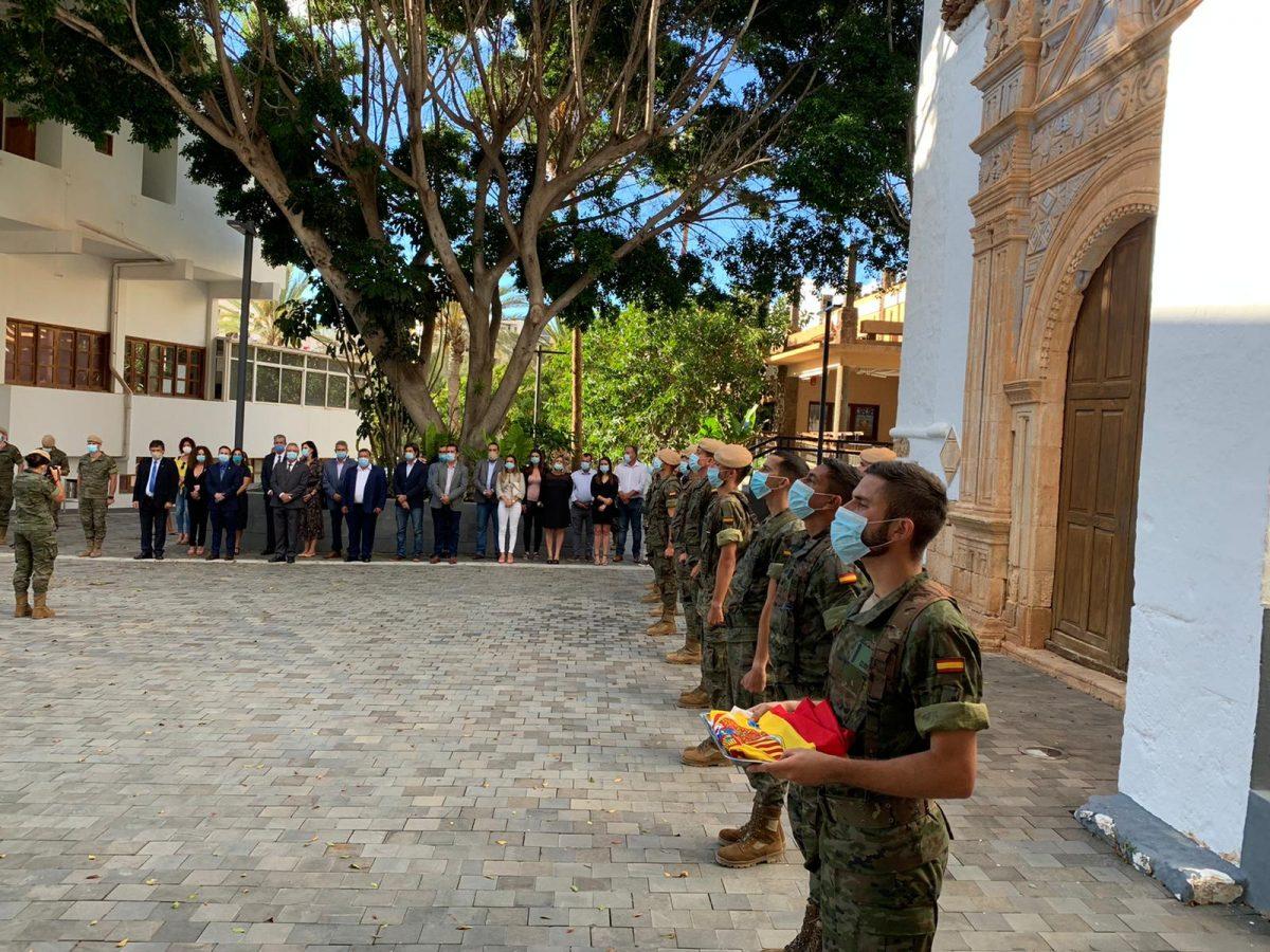 Pájara, escenario del homenaje a las víctimas de la COVID-19 en Fuerteventura