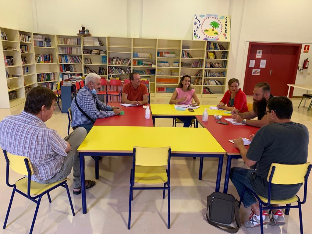 Pájara planifica el próximo curso escolar con los centros de infantil y primaria