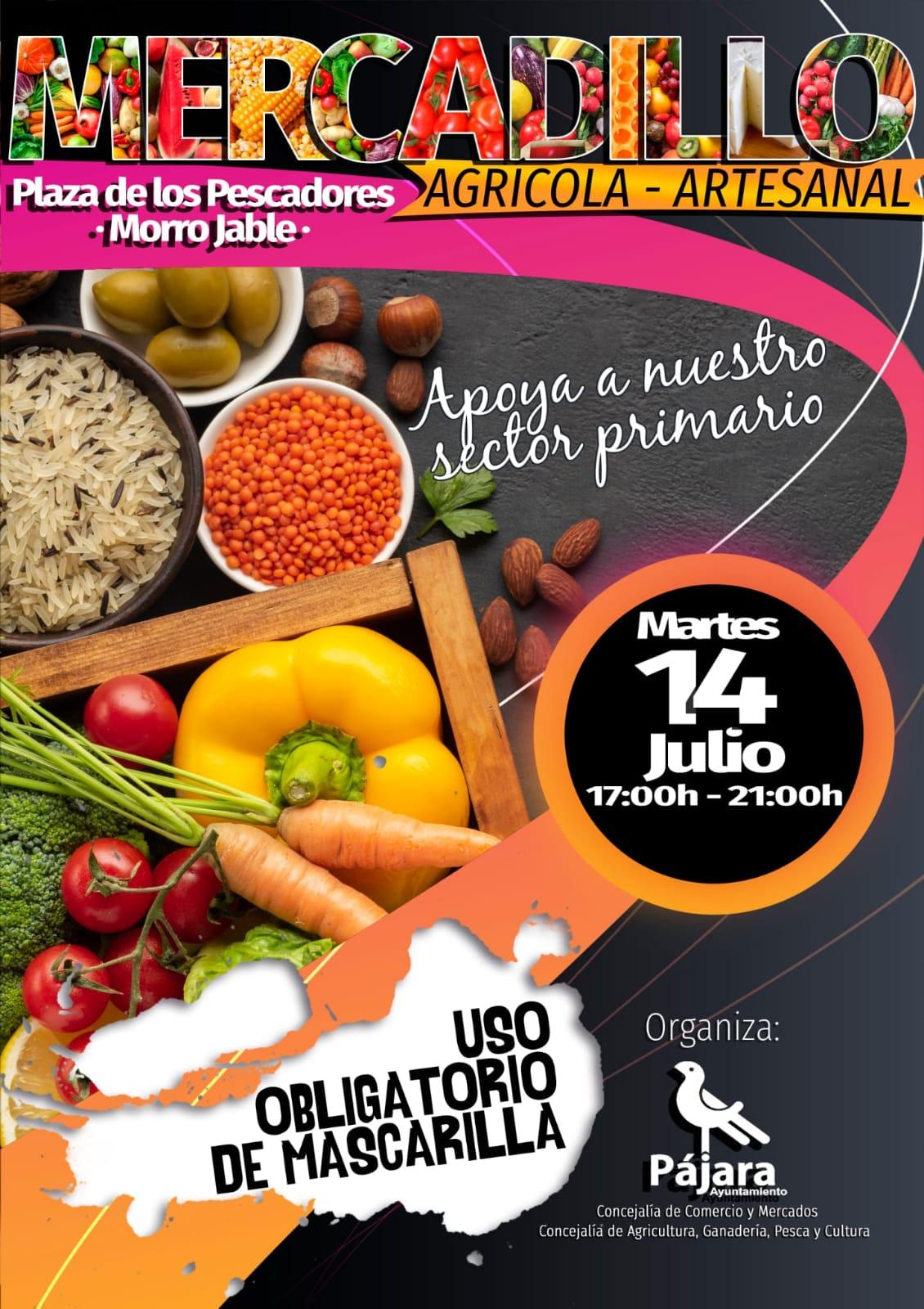Morro Jable acoge el próximo martes el Mercadillo Agrícola y Artesanal