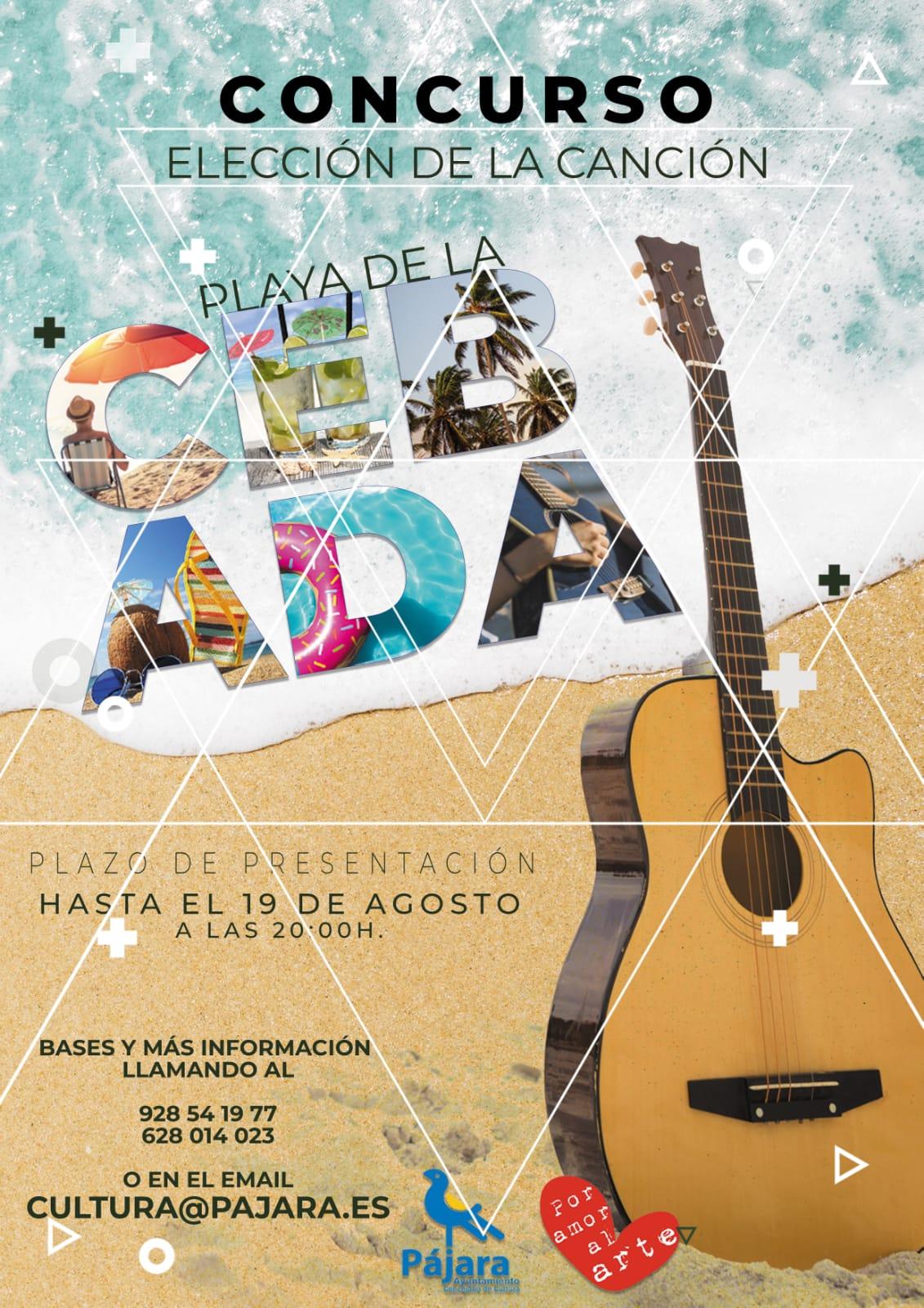 La canción de Eva Saavedra representará a la 'Semana Cultural Playa de la Cebada'
