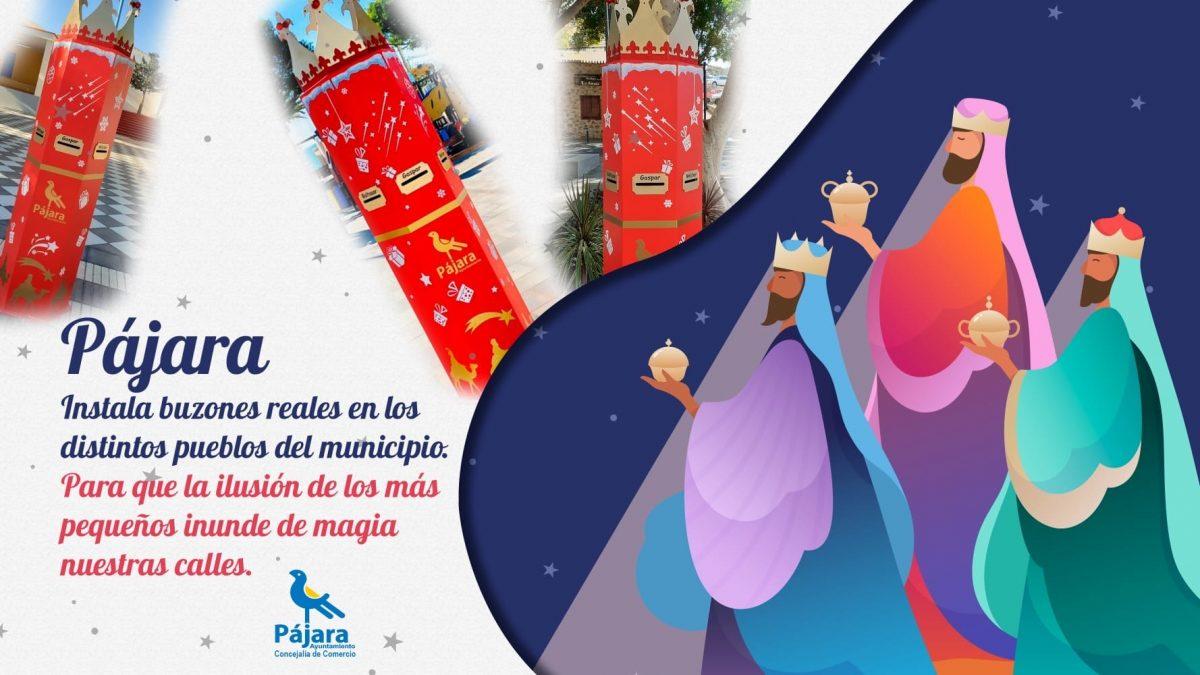 Los Reyes Magos de Oriente y el Ayuntamiento instalan ocho buzones reales en Pájara