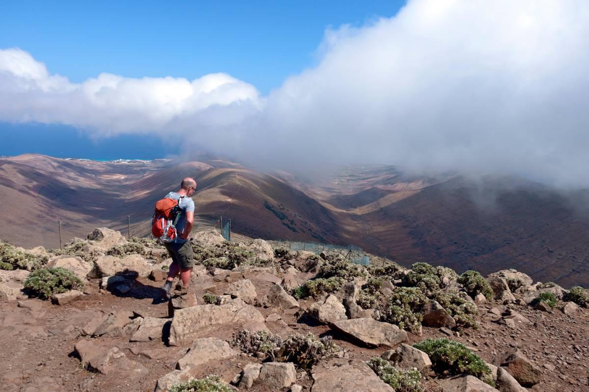 El diario 'El País' promociona las rutas del Pico de la Zarza de Jandía
