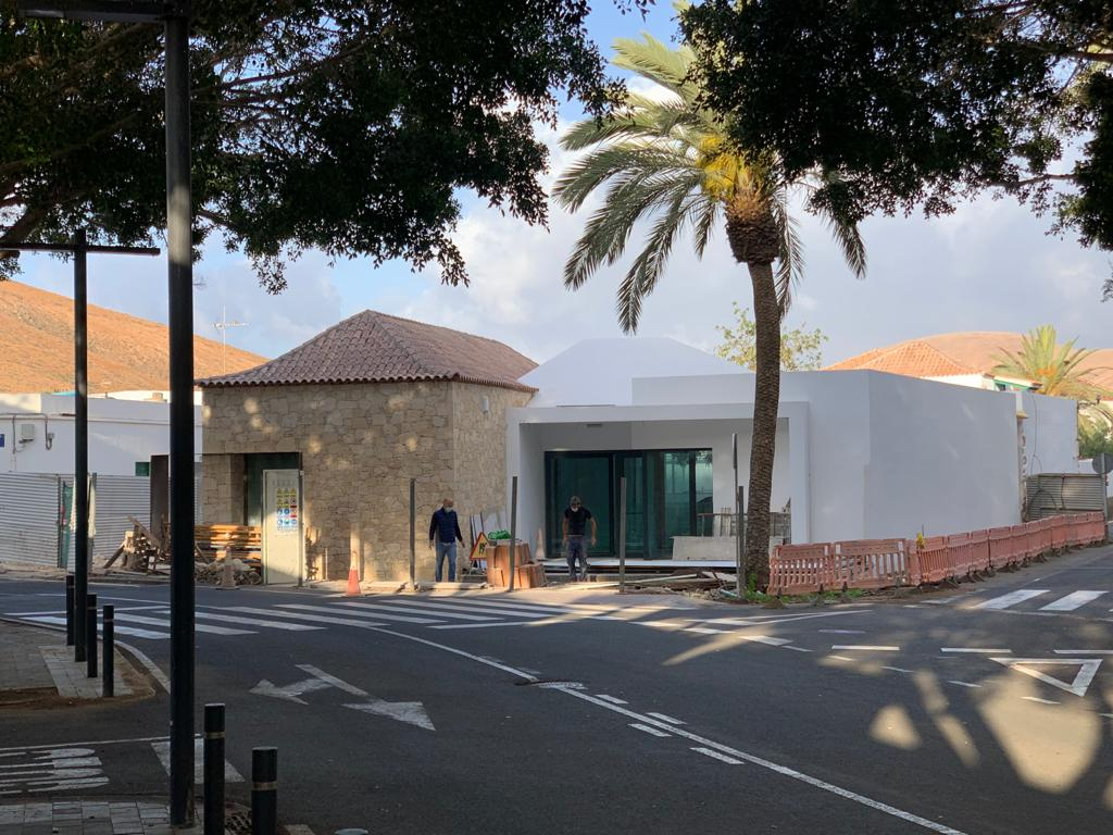 El Ayuntamiento está a punto de finalizar las obras del Museo de Arte Moderno de Pájara