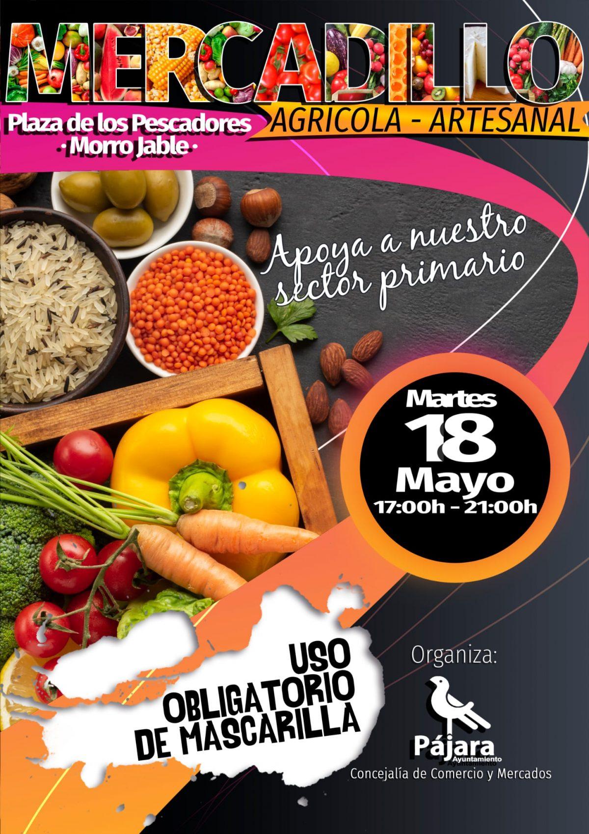 Morro Jable acoge una nueva edición de su tradicional Mercadillo Agrícola y Artesanal
