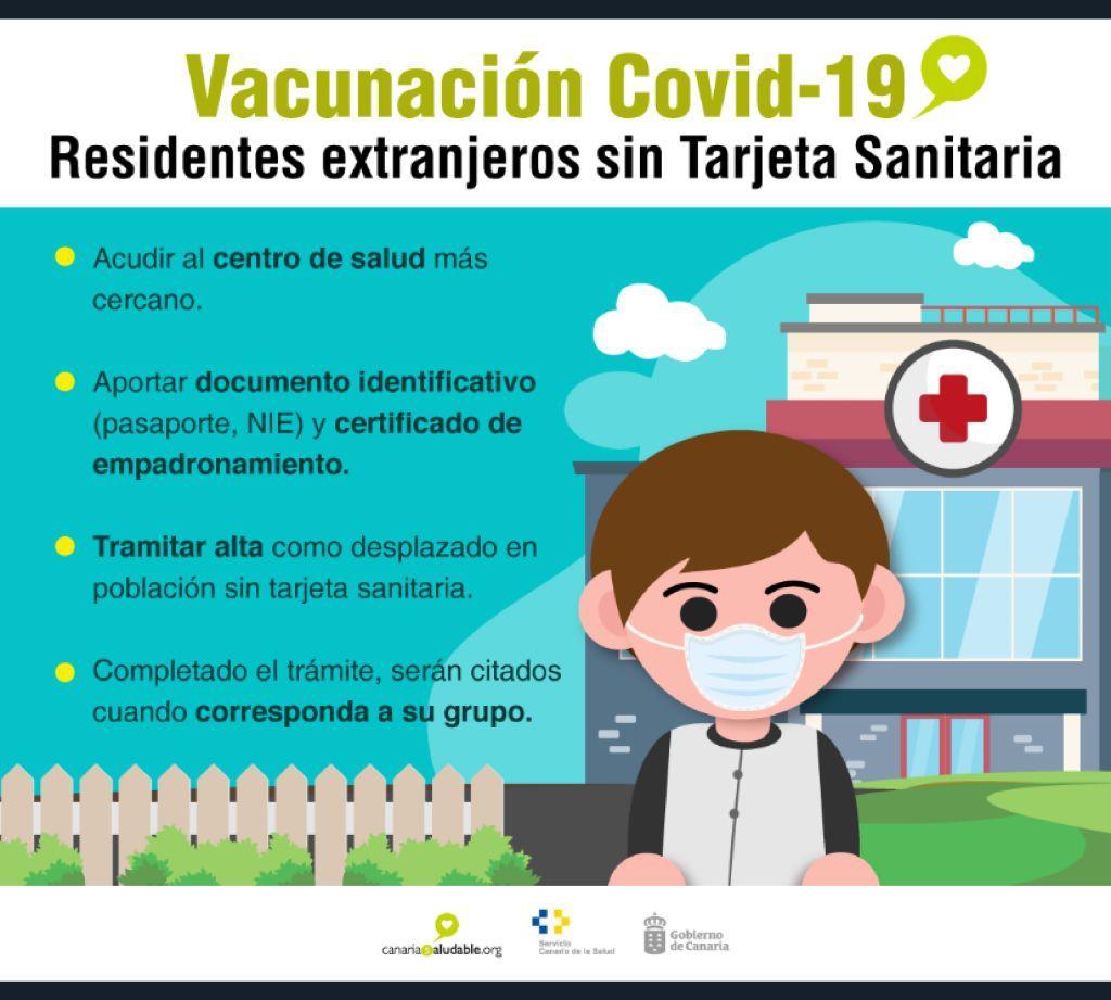 Pájara vacunará a residentes extranjeros sin tarjeta sanitaria
