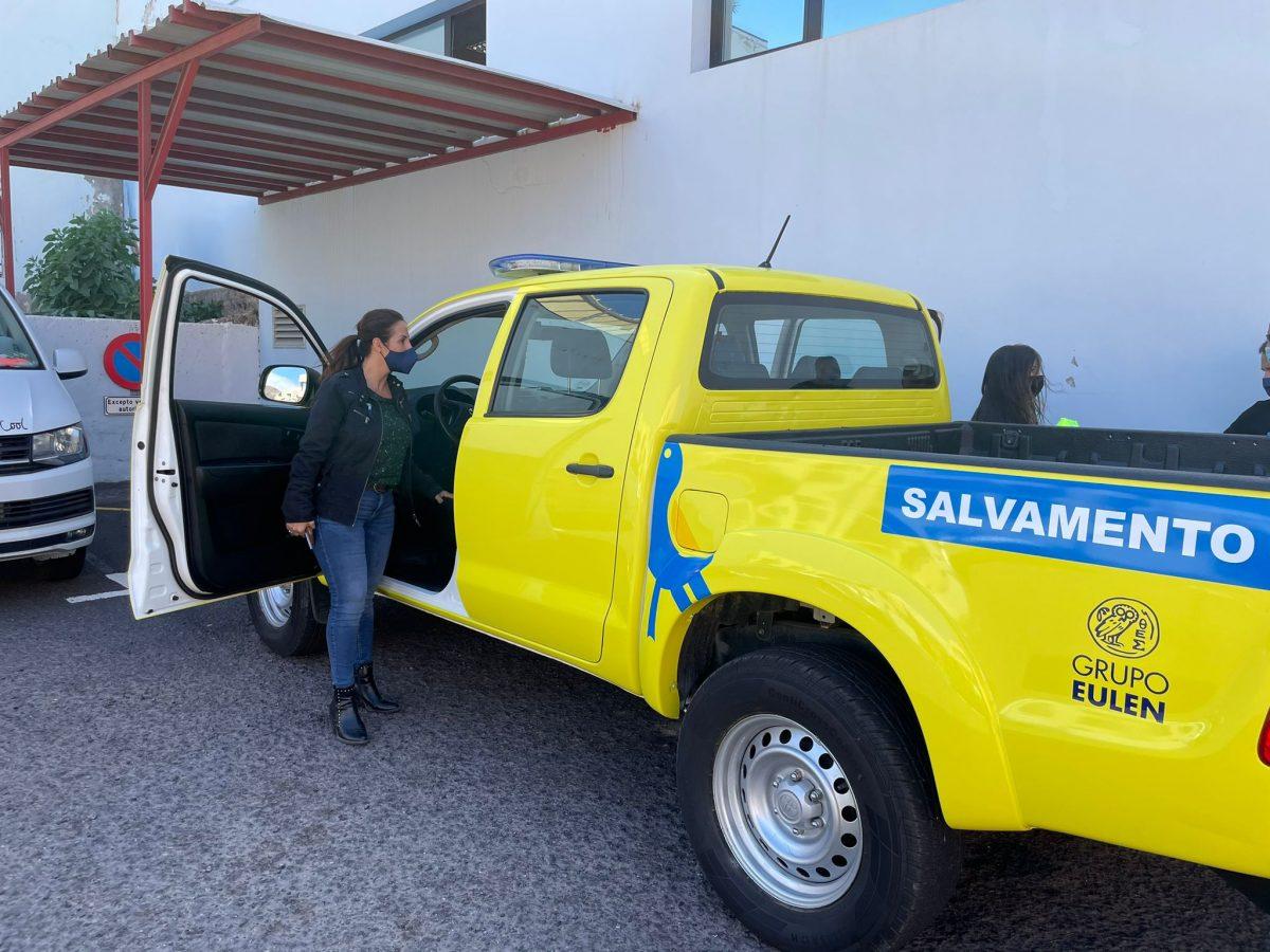Pájara adquiere un nuevo vehículo para el servicio de vigilancia y salvamento en las playas del municipio
