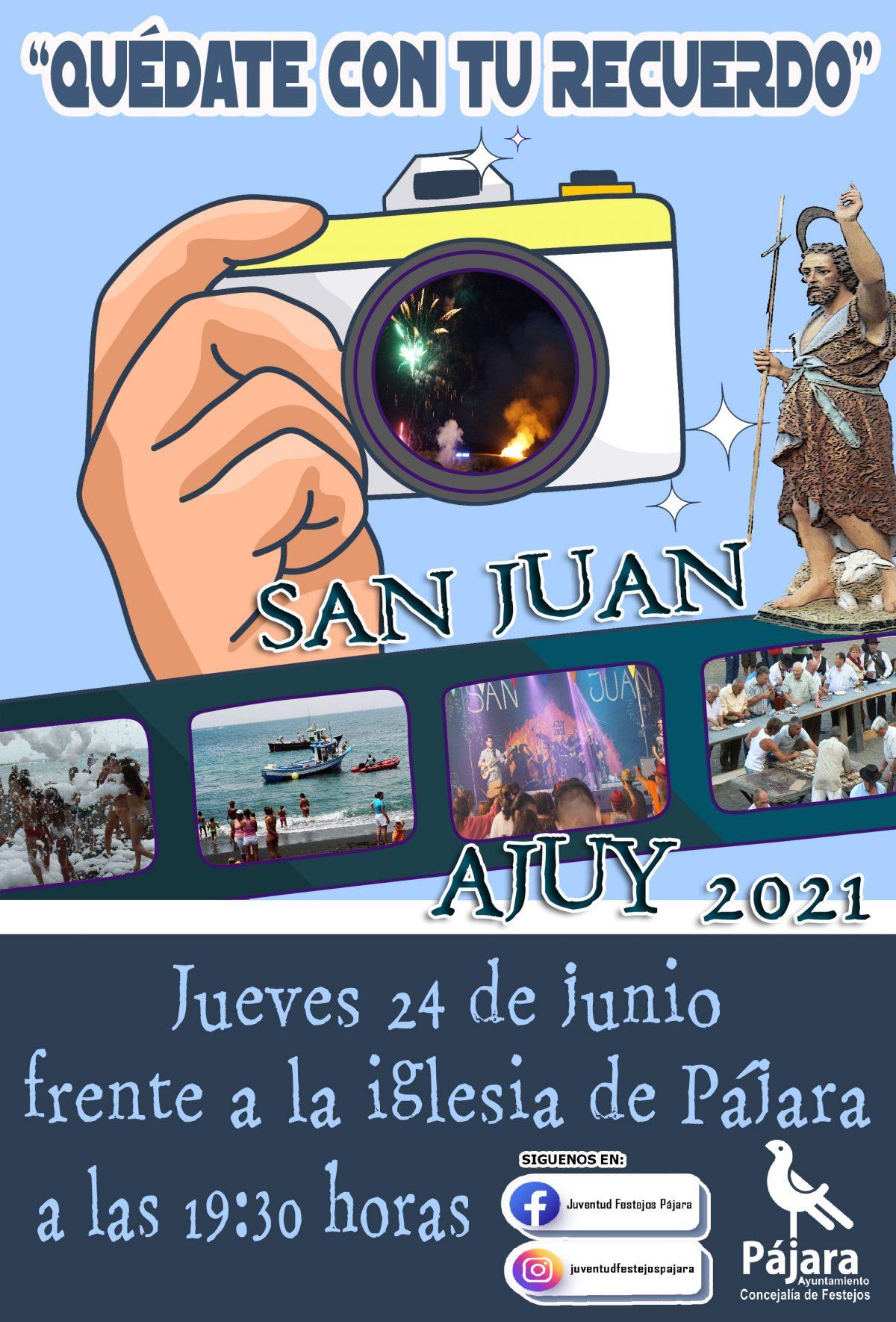 'Pronto volveremos a lo nuestro', vídeo de la conmemoración de las fiestas de San Juan, en Ajuy