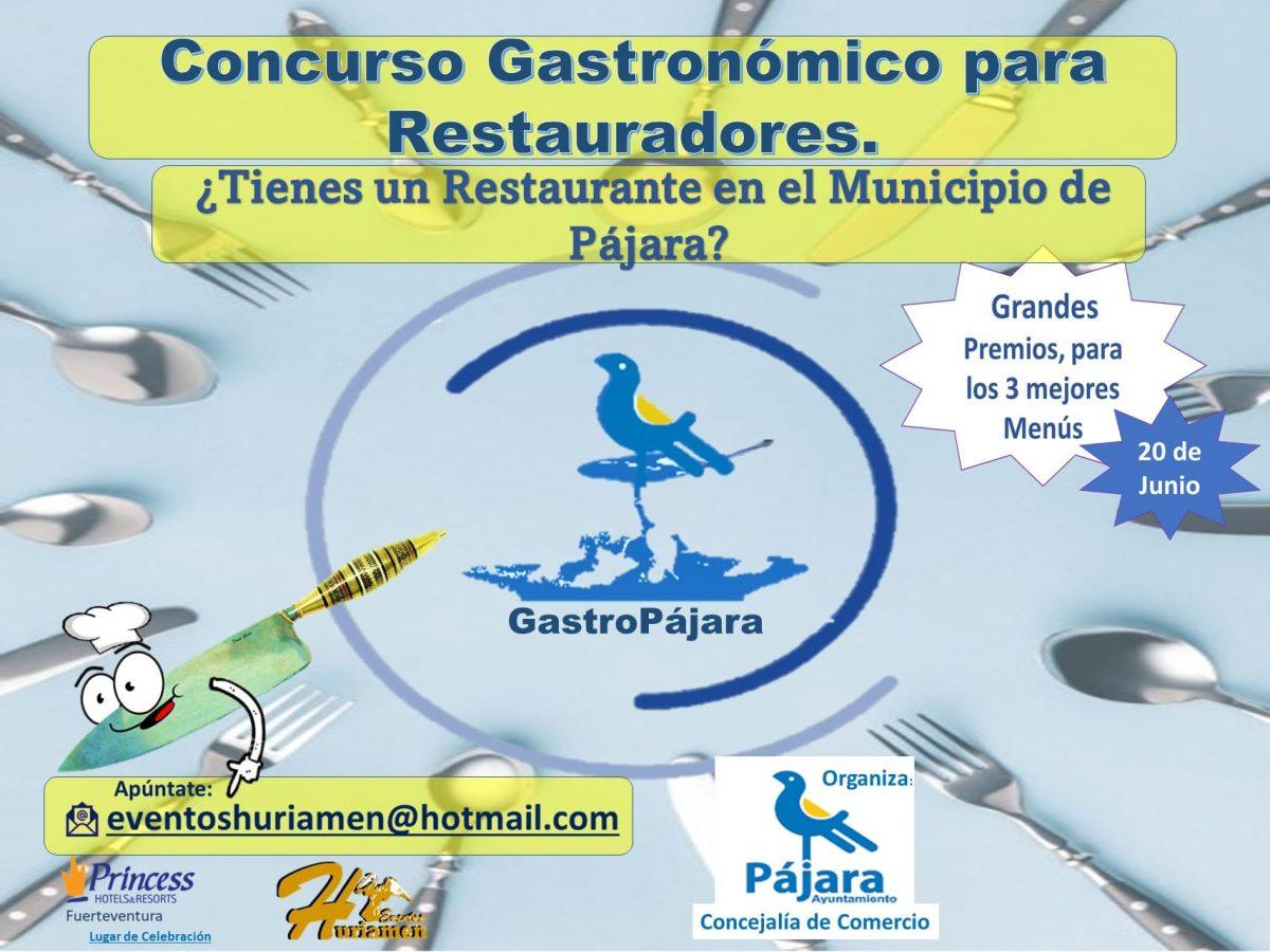 Pájara organiza el I Certamen Gastronómico destinado a los restauradores del municipio