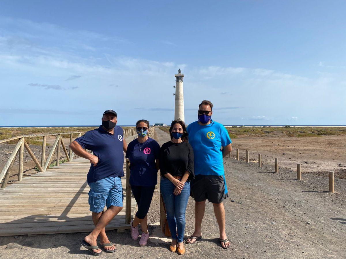 Pájara felicita al Club de Buceo Oxígeno Jablito por su victoria en el Campeonato de Fotografía Submarina Fuerteventura 2021