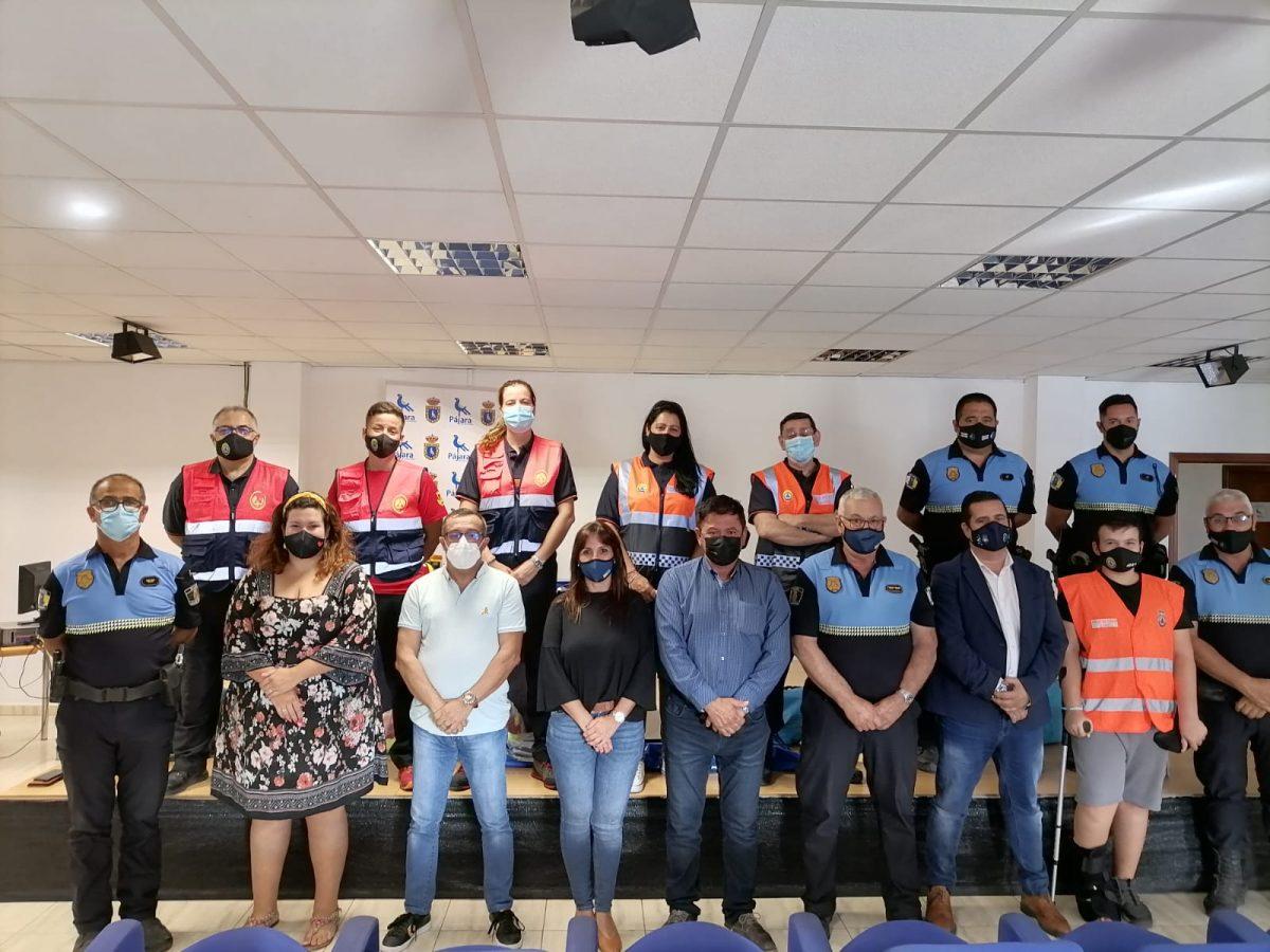 El Ayuntamiento de Pájara dota de nuevo material al equipo de Protección Civil para mejorar el servicio de voluntariado en el municipio