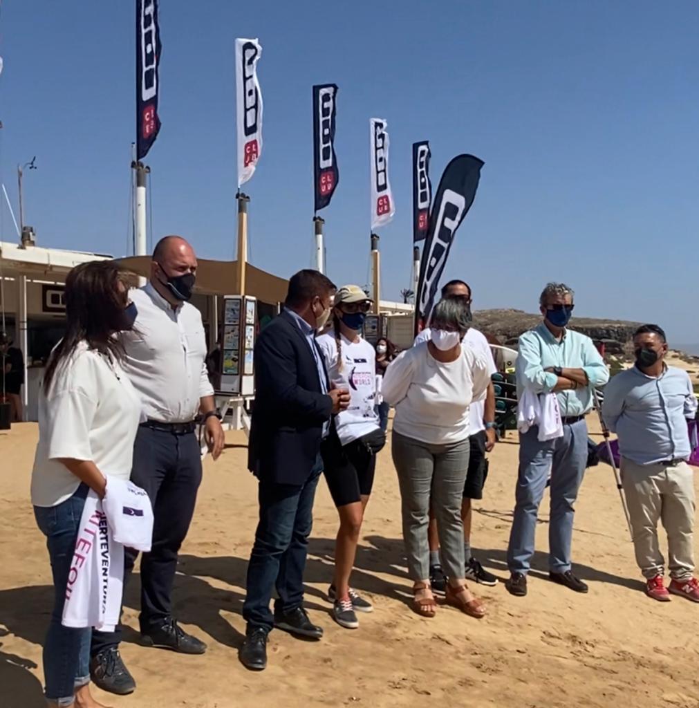 Pájara acogerá una prueba de la competición Fuerteventura Kitefoil World Series 2021