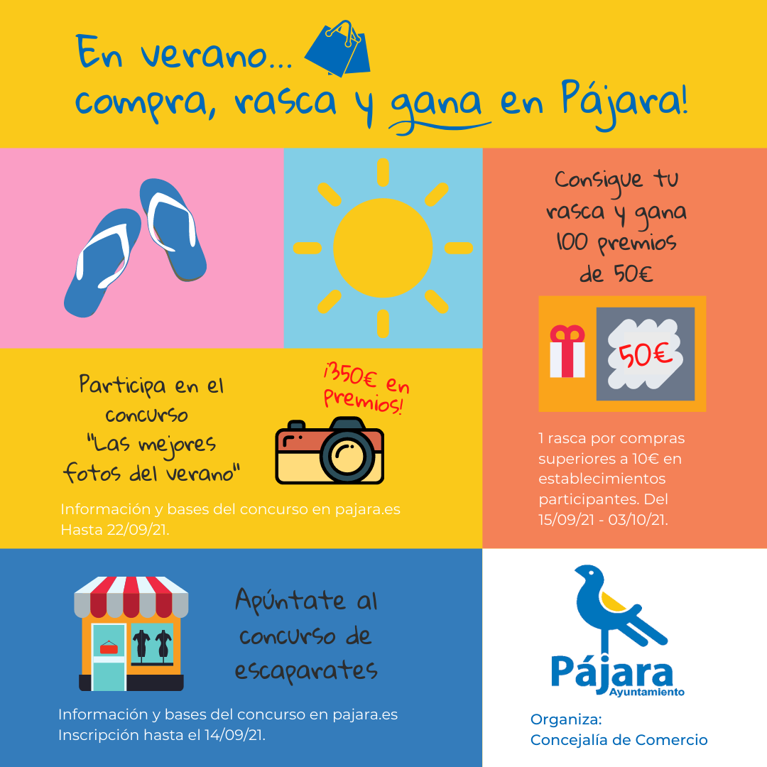 Pájara organiza una campaña para promocionar e impulsar el comercio local y la dinamización empresarial en el municipio
